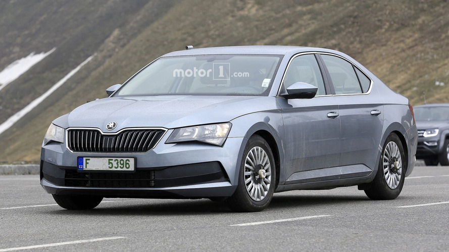 What is Skoda up to with this Superb prototype?