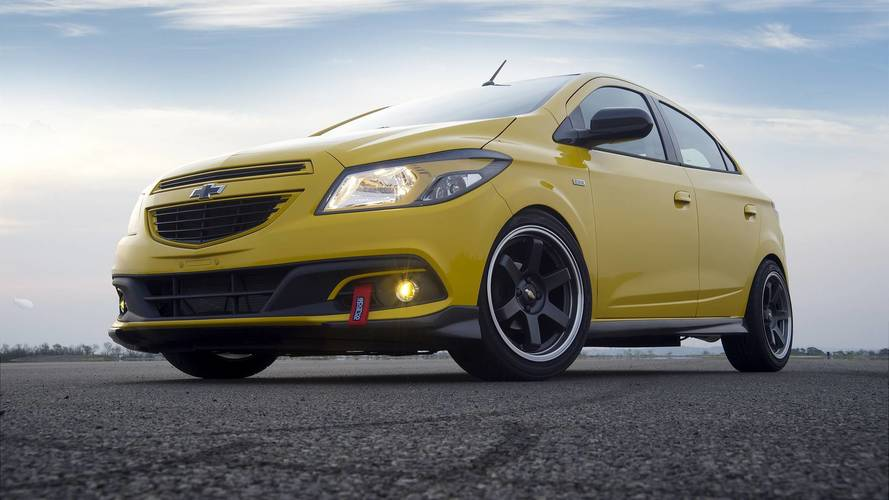 Conceitos esquecidos: Chevrolet Onix Track Day era hot hatch com motor 1.8 do Cruze