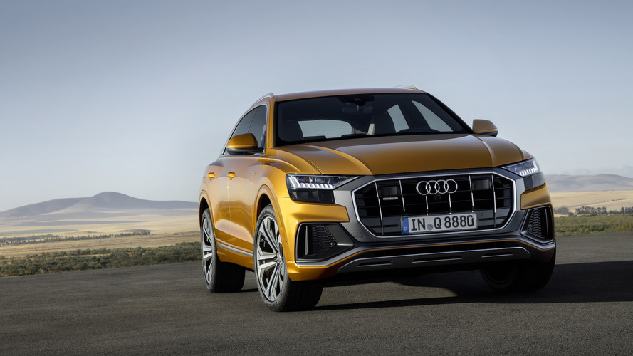 Audi Q8 Goes On Sale In Europe; Commands Hefty Premium Over Q7