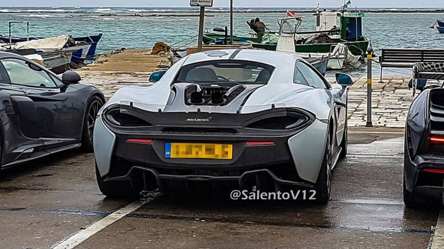 possible mclaren 600 lt spy photo photos. Black Bedroom Furniture Sets. Home Design Ideas