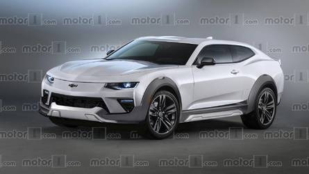 Imagine A Chevy Camaro EV SUV To Take On Ford's Mustang Crossover