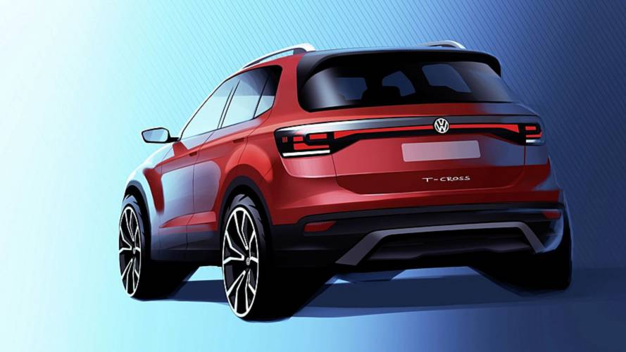 Volkswagen T-Cross, rival do Jeep Renegade, aparece no primeiro teaser