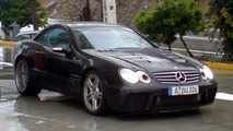 Mercedes SLC Super Sports Car Spy Photos