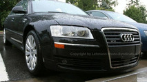 2008 Audi A8 Facelift Spy Photos