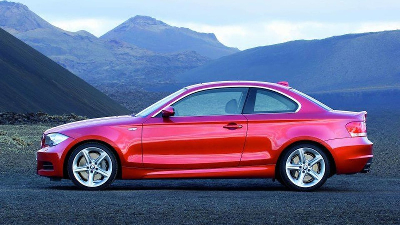 New BMW 1 Series Coupe