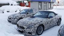 BMW Z4 new spy images