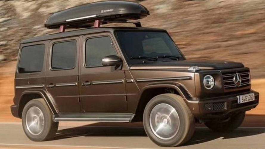 New Mercedes G-Class Leaked In All Of Its Boxy Glory