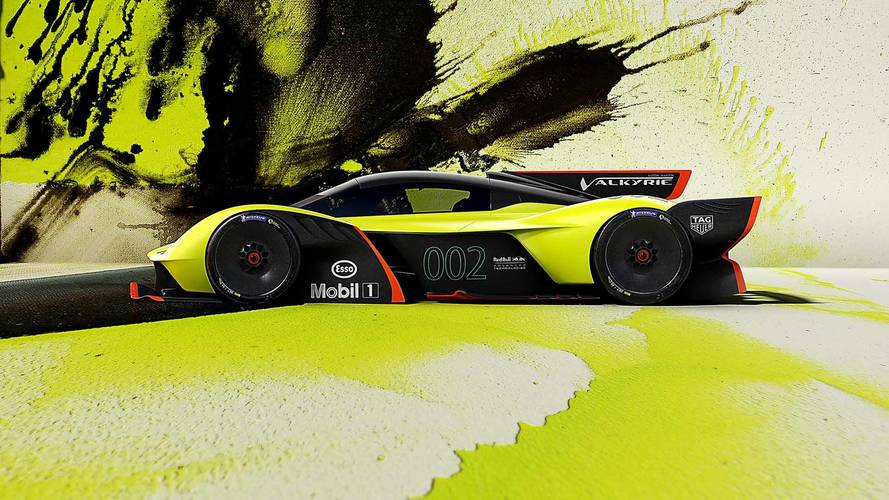 Aston Martin Valkyrie AMR Pro is a 1,100bhp track toy