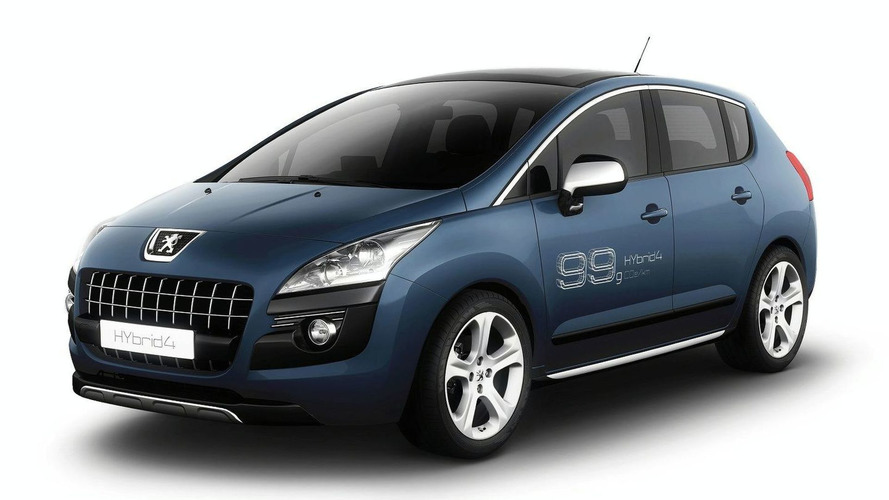 Peugeot reveals 3008 HYbrid4 and RCZ HYbrid4 ahead of Frankfurt debut
