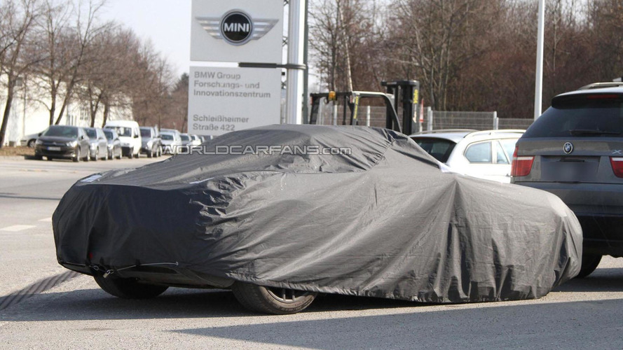 Porsche Boxster prototype makes pit stop at BMW - secret hybrid collaboration in the works?