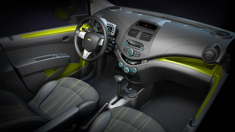 GM to Debut all-new Chevrolet Spark in Geneva - First Interior Shot