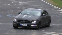 2010 Mercedes CLS 63 AMG prototype spy photo 16.04.2010