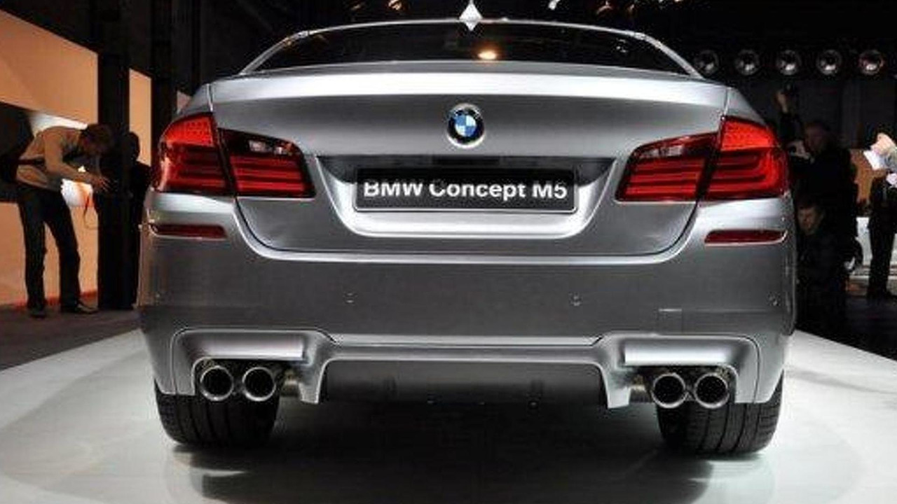 2012 BMW M5 Concept Leaked Images 720 03042011