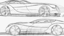 Morgan EvaGT design sketch, 24.08.2010