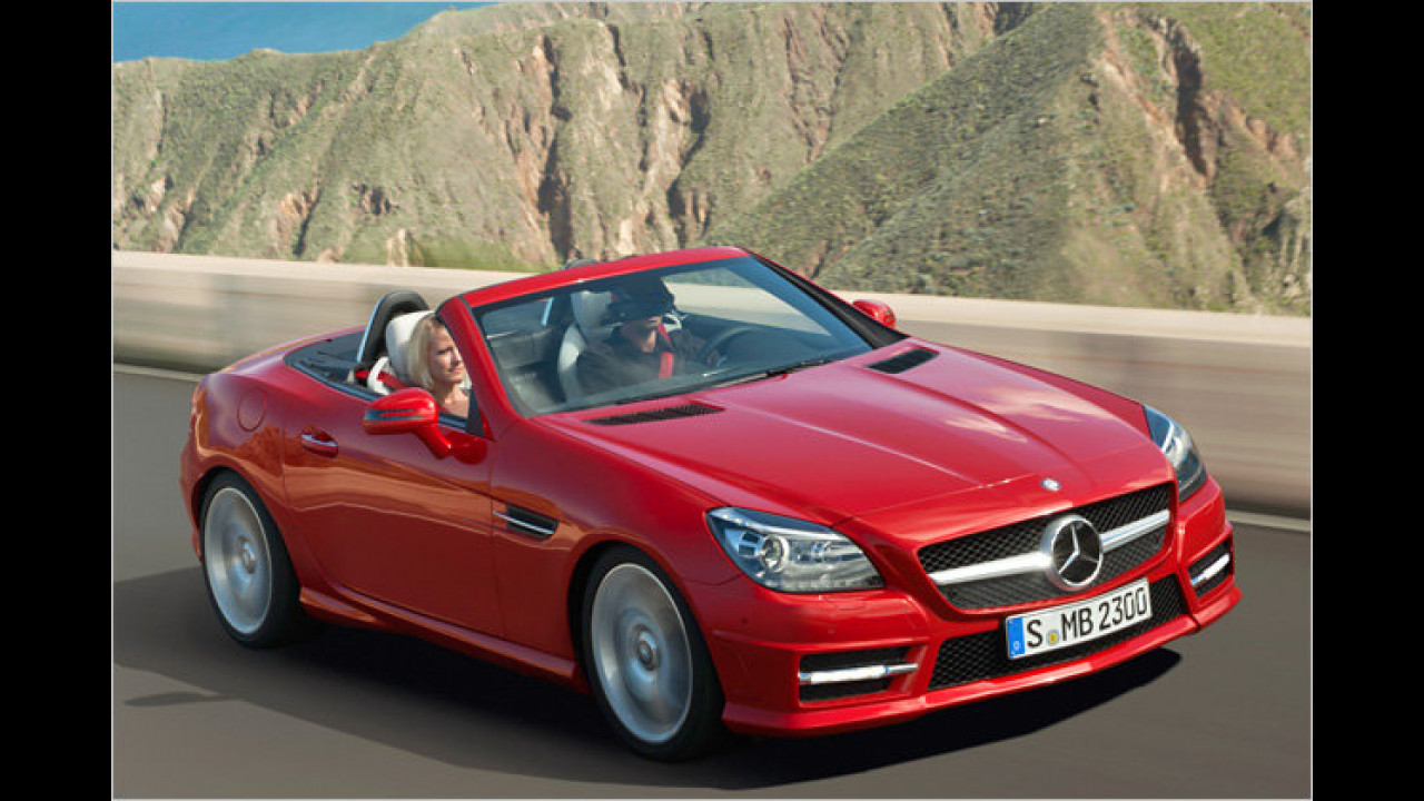Mercedes SLK 200 BlueEfficiency 7G-Tronic