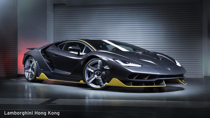 First Lamborghini Centenario In Asia-Pacific Poses For The Camera