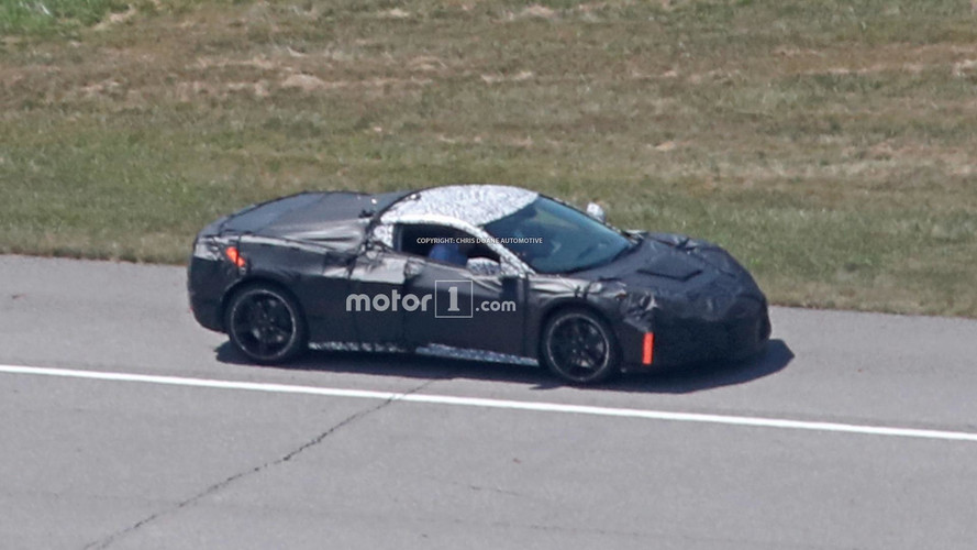 Mid-Engined Corvette Advanced Prototype Spy Shots