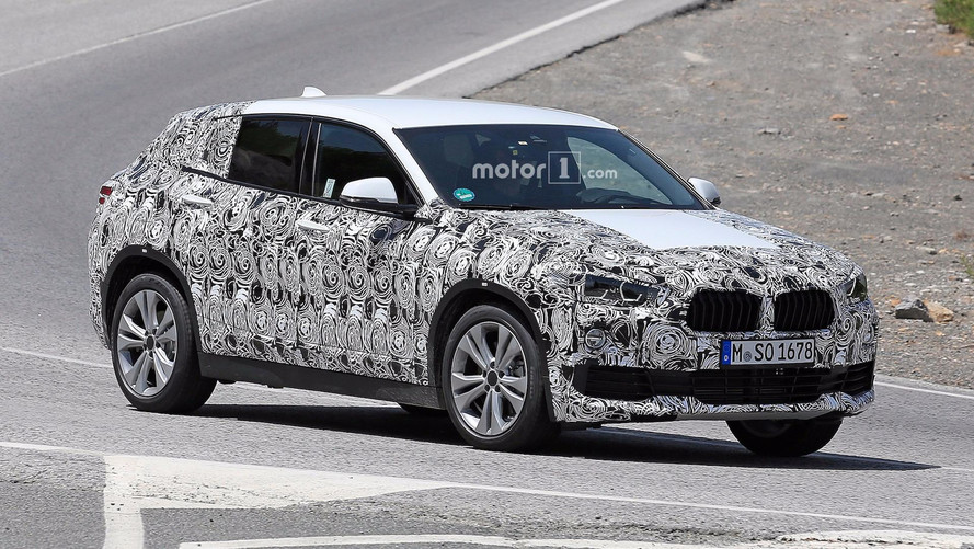 2018 BMW X2 Spied In Full Production Body