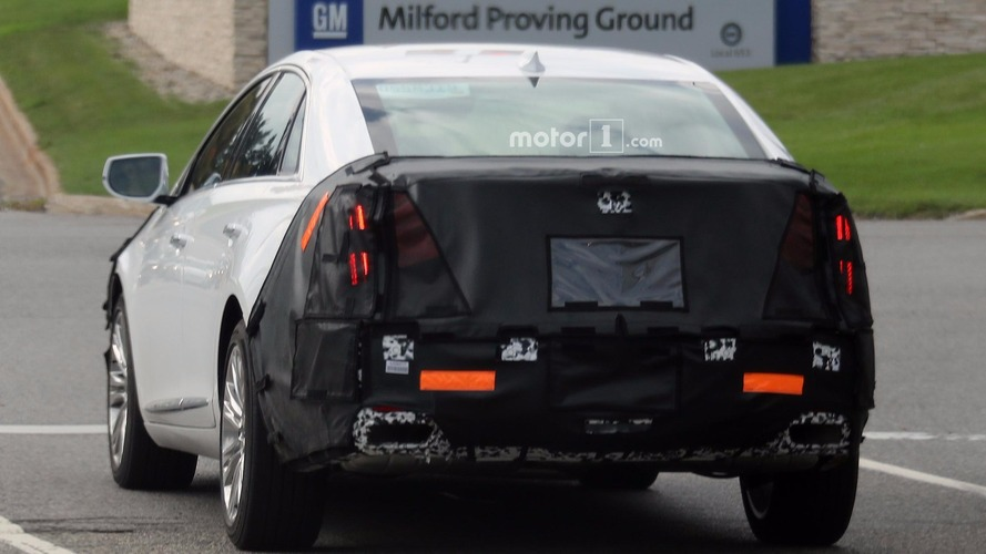 2018 cadillac model lineup. beautiful 2018 2018 cadillac xts spy shots for cadillac model lineup