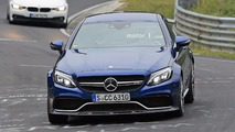 Mercedes-AMG C63 R Coupe Spy Photos