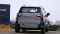 Spy photos show Ford EcoSport is about to lose the rear spare wheel