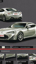 Toyota FT-86 TRD leaked - 2.11.2011