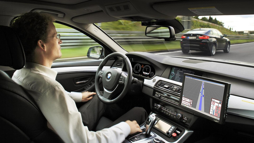 BMW autonomous driving system announced