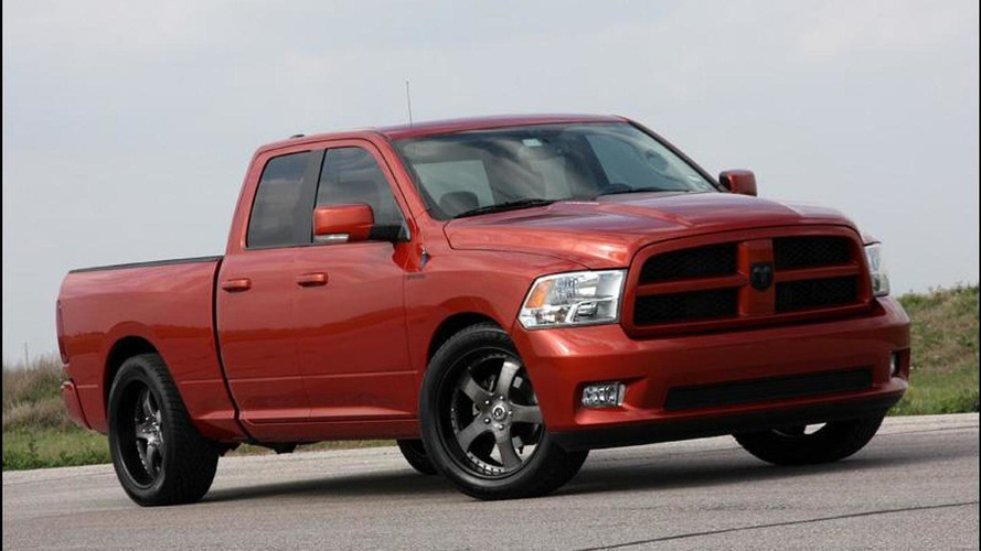 2011 HPE500 Dodge Ram pickup by Hennessey [video]