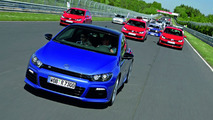 VW Scirocco R at 24H Nurburgring Nordschleife
