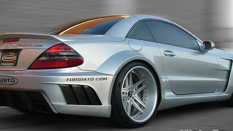 Mercedes Sl Class Widebody Package By Misha Designs