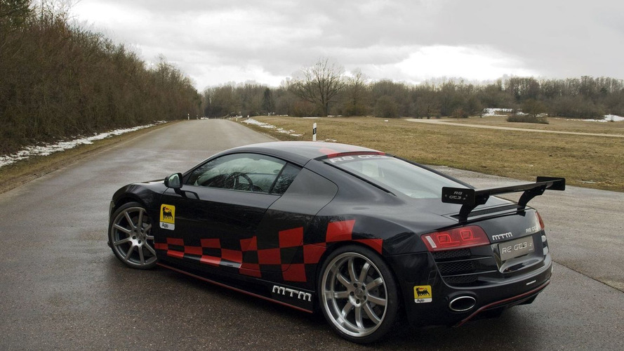 MTM R8 GT3-2: Street-Legal Supercharged Audi R8 with RWD and 560 PS