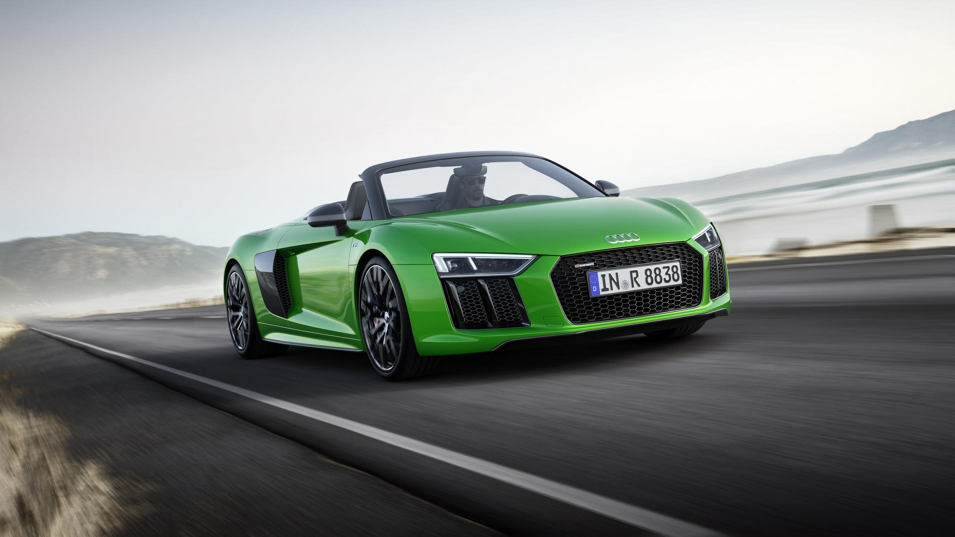 Audi R8 Spyder V10 Plus Is nd's Fastest Convertible Ever Made