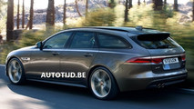 2018 Jaguar XF Sportbrake leaked official images