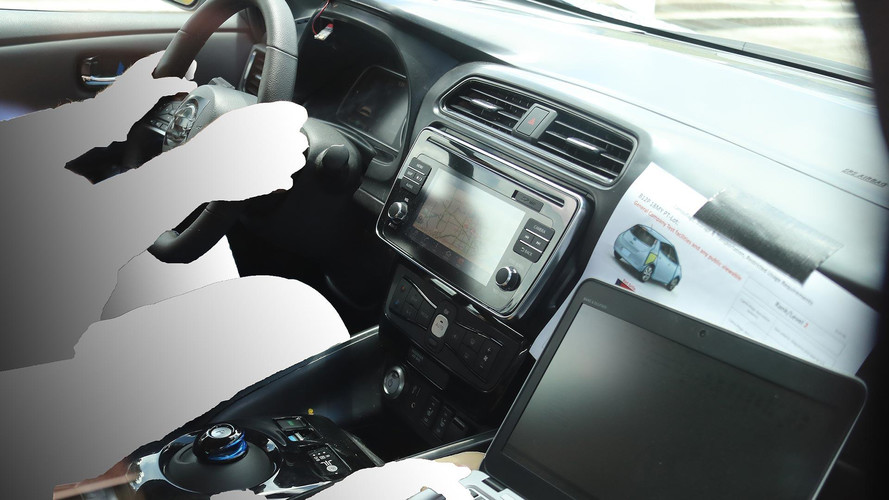 All-New 2018 Nissan Leaf Interior Spied