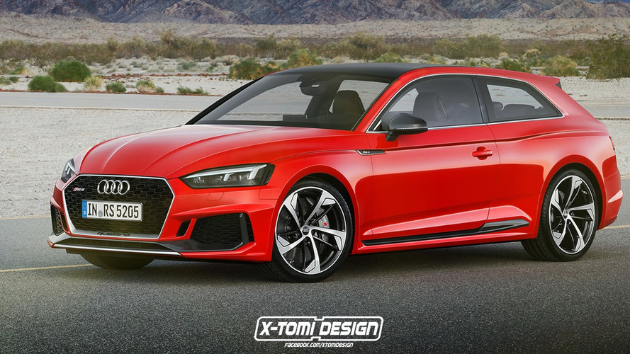 Stare At These Audi RS5 Shooting Brake, Sportback, Cabriolet Renders