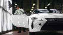 Lexus LC production