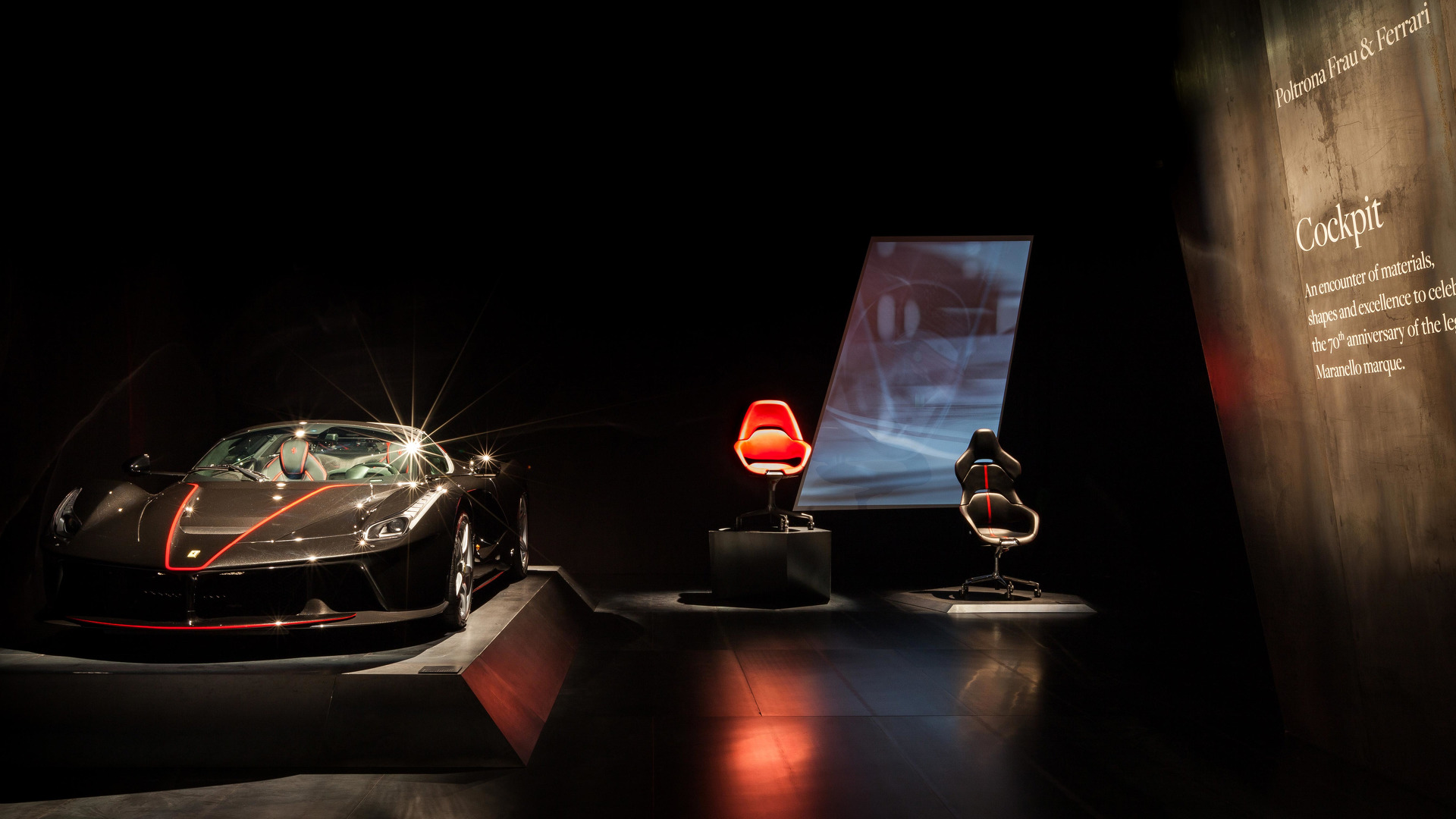 Ferrari fice Chair fers Supercar Seating While Writing Emails