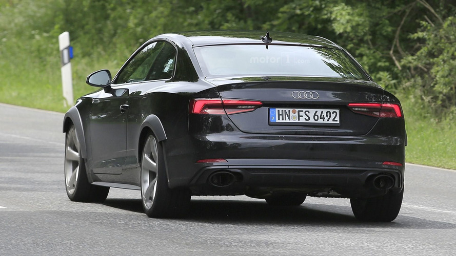 2018 Audi RS5 Coupe spy photos