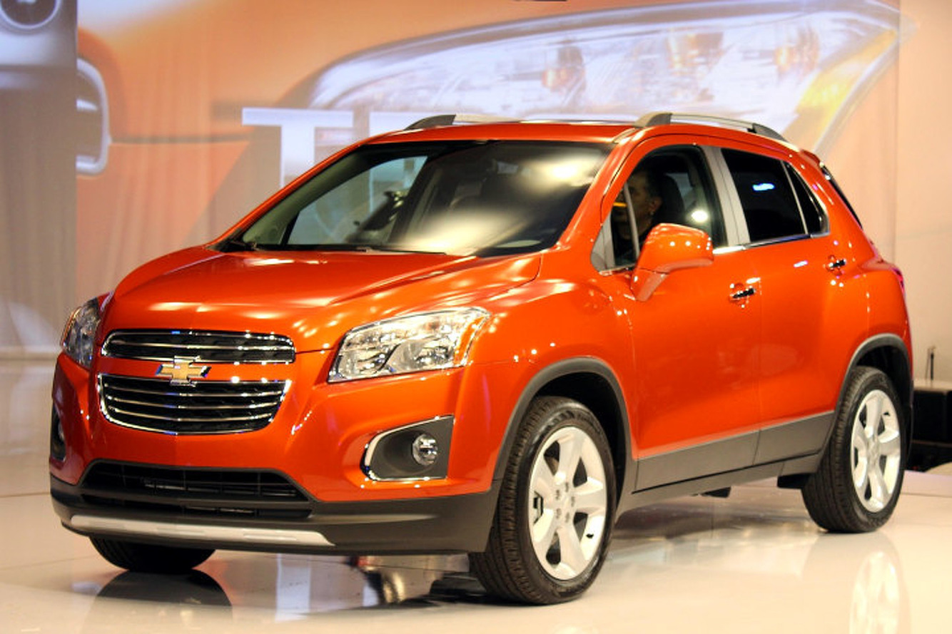 2015 Chevrolet Trax: Chevy's Surprise Small SUV