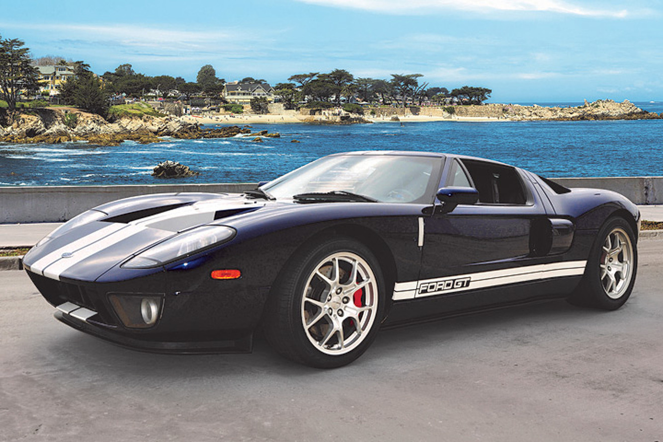 A Rare '04 Ford GT Prototype Comes up For Sale