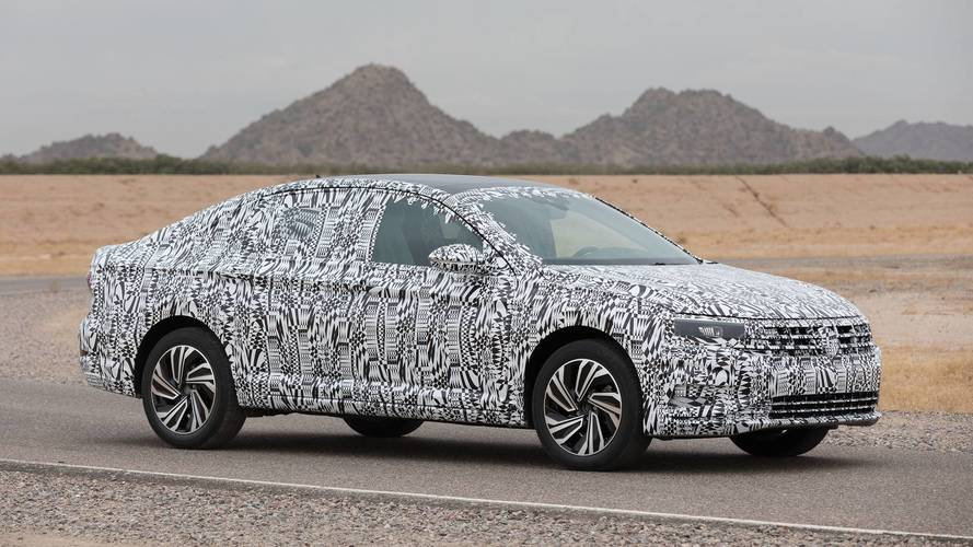 2019 Volkswagen Jetta Prototype First Drive: Moving On Upscale