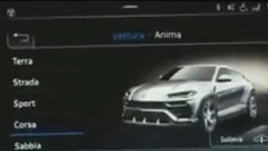 Lamborghini Urus Partially Revealed In Corsa Mode Teaser [UPDATE]