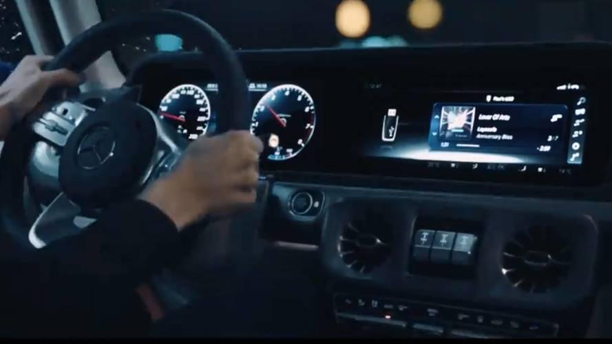 Mercedes Clase G 2018: nuevo teaser en vídeo