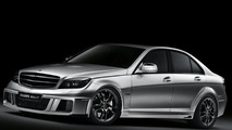 720hp Brabus Bullit Based on Mercedes C-Class sedan
