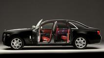 Rolls-Royce Ghost in Matte Black 25.1.2012