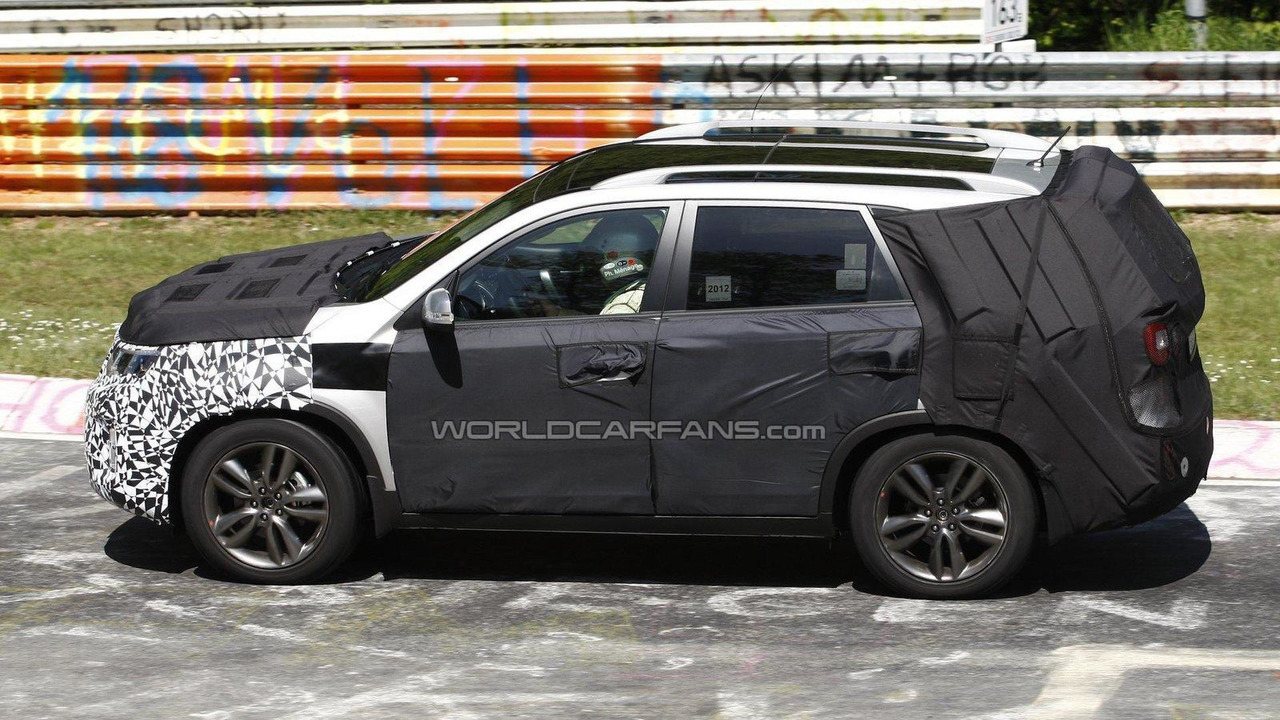 2014 Kia Sorento facelift spy photos 24.05.2012