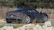 2014 Alfa Romeo 4C spied in Italy