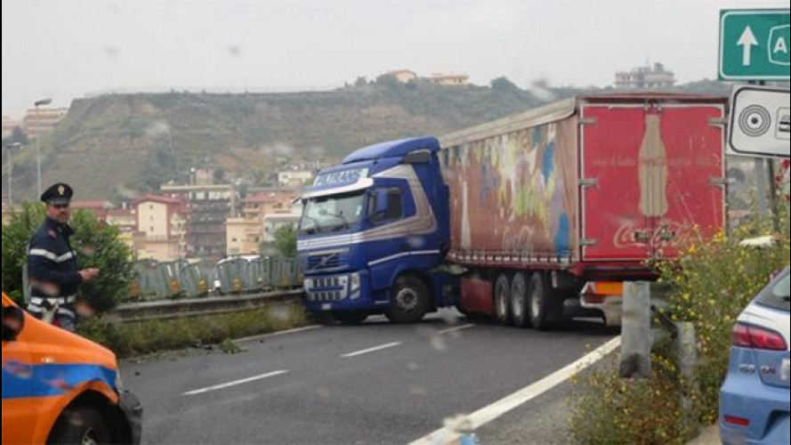 Le strade più pericolose d'Italia nel 2013