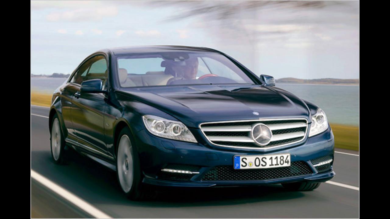 Mercedes CL 500 BlueEfficiency 7G-Tronic