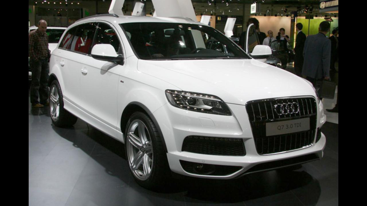 Audi Q7 mit neuen Motoren